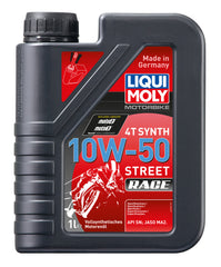 Liqui Moly 4T 10W-50 Street Race Fully Synthetic (1 Liter) - Autohub Pakistan