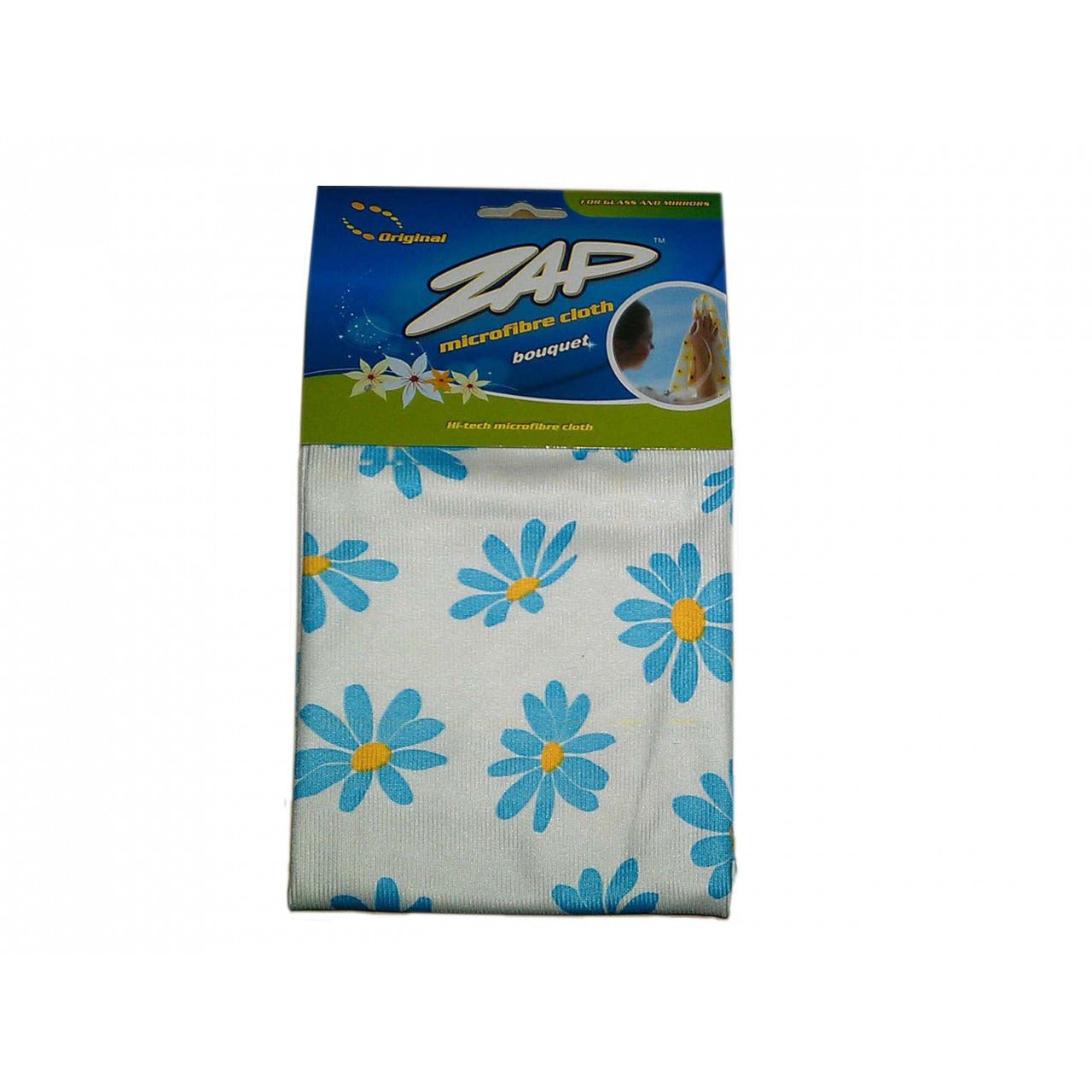 ZAP BOUQUET GLASS MIRROR Microfiber Cloth (40cm x 50cm)