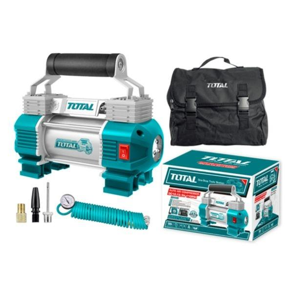 Total Heavy Duty Air Compressor with Light 12V
