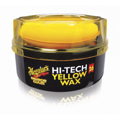 Meguiar's Mirror Glaze Hi-Tech Yellow Wax, Paste - Autohub Pakistan