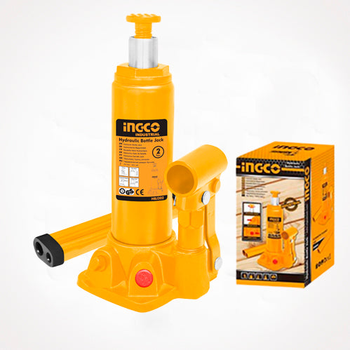 INGCO Hydraulic bottle jack 2 Ton