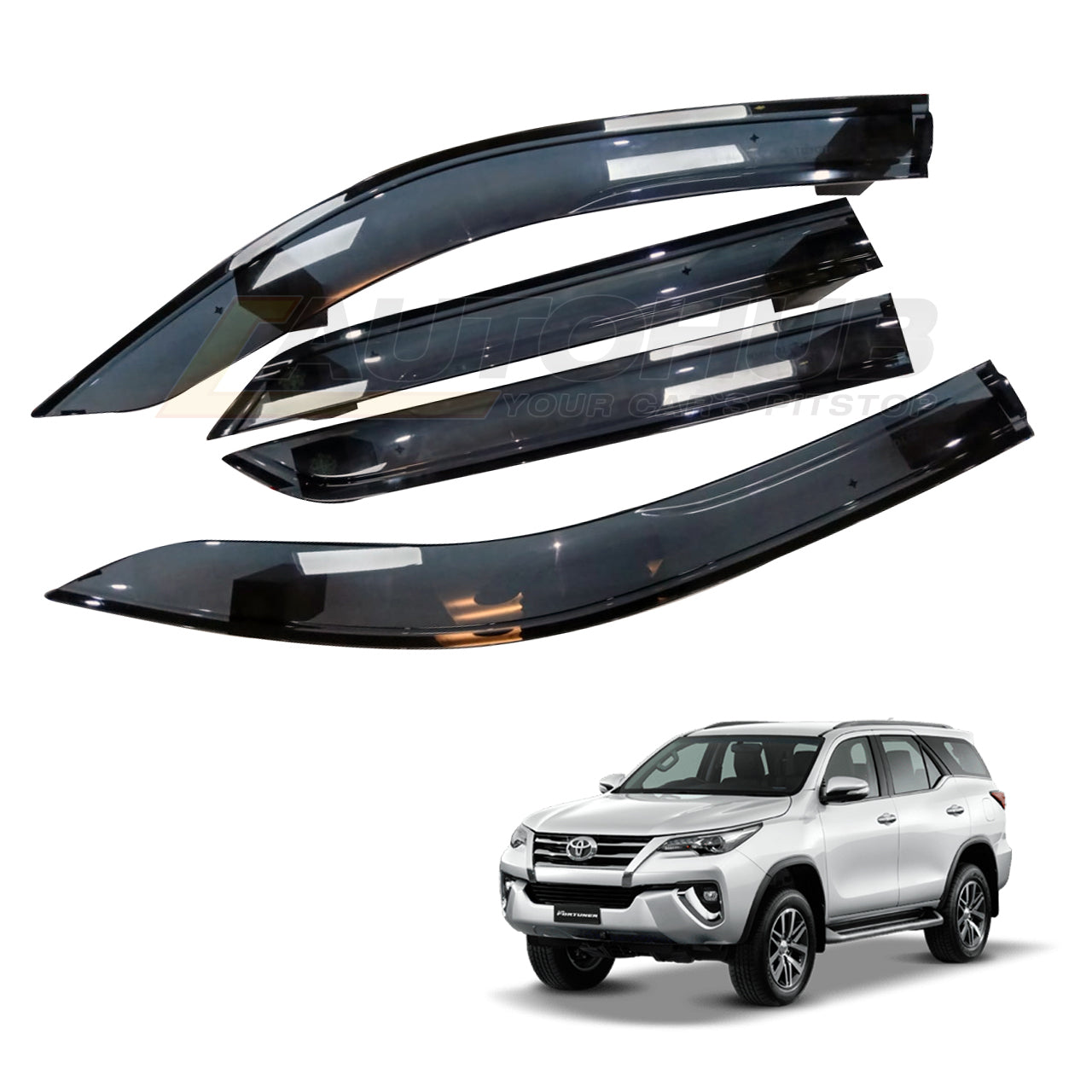 Toyota Fortuner  Wind Deflector Original