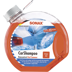 Sonax Car Shampoo Consentrate Red Summer 3L - Autohub Pakistan