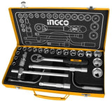 "INGCO 24Pcs 1/2"" socket set - Autohub Pakistan"