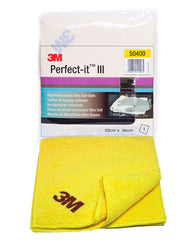 3M Yellow High Performance Ultra Soft cloth - Autohub Pakistan