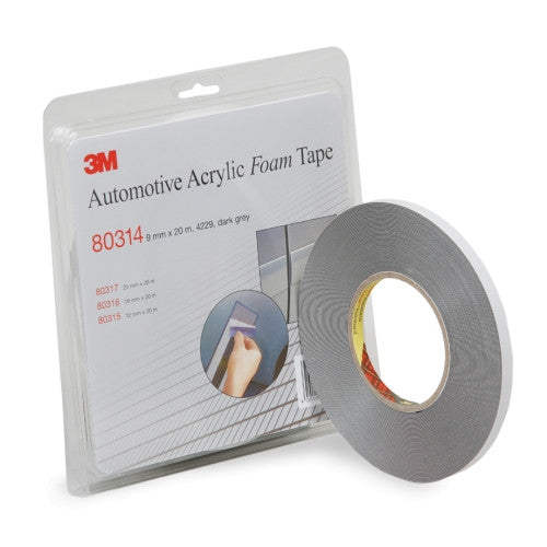 3M Acrylic Double Sided Foam Tape (9mmX20meter)