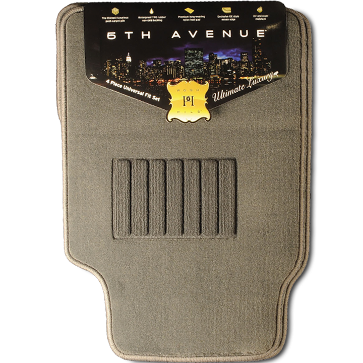 5TH Avenue Universal Car Mats (Grey)