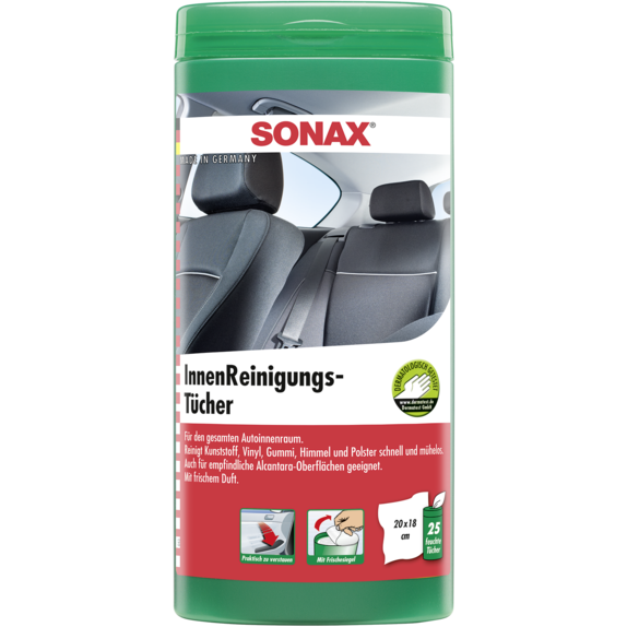 Sonax Interior Cleaning Wipes Box