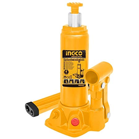 INGCO Hydraulic bottle jack 4 Ton