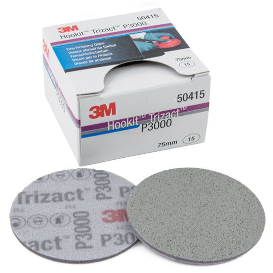 3M Trizact Fine Finishing Foam Disc P3000, 75mm
