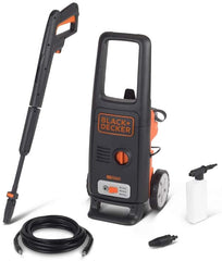 Black & Decker High Pressure washer 1600W (125 Bar)