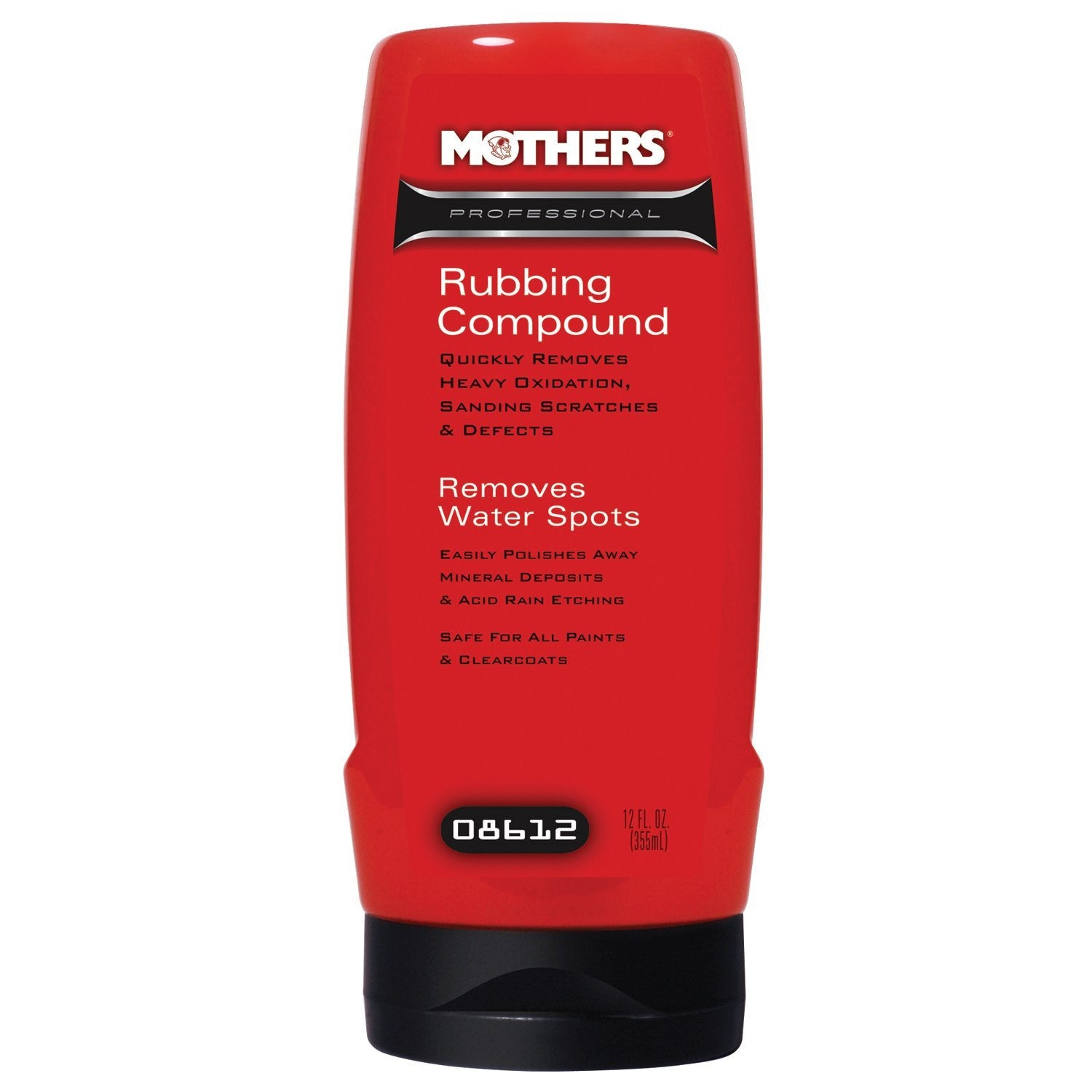 MOTHERS Professional Rubbing Compound 12 OZ