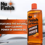 Nu Finish Car Wash 64oz. - Autohub Pakistan