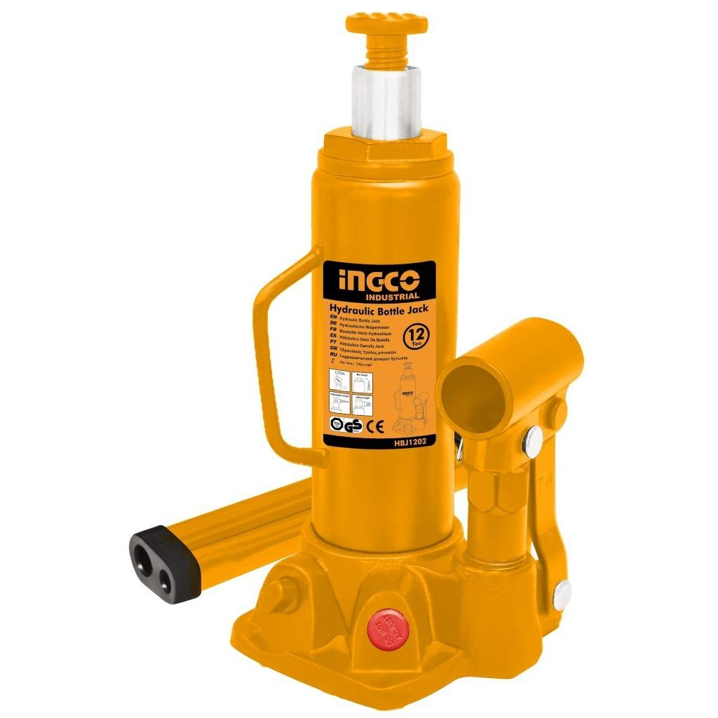 INGCO Hydraulic bottle jack 12 Ton