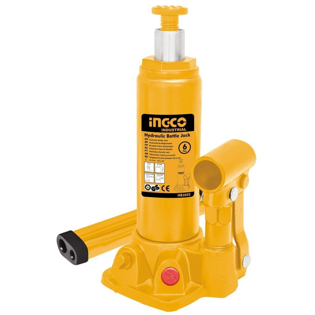 INGCO Hydraulic bottle jack 6 Ton