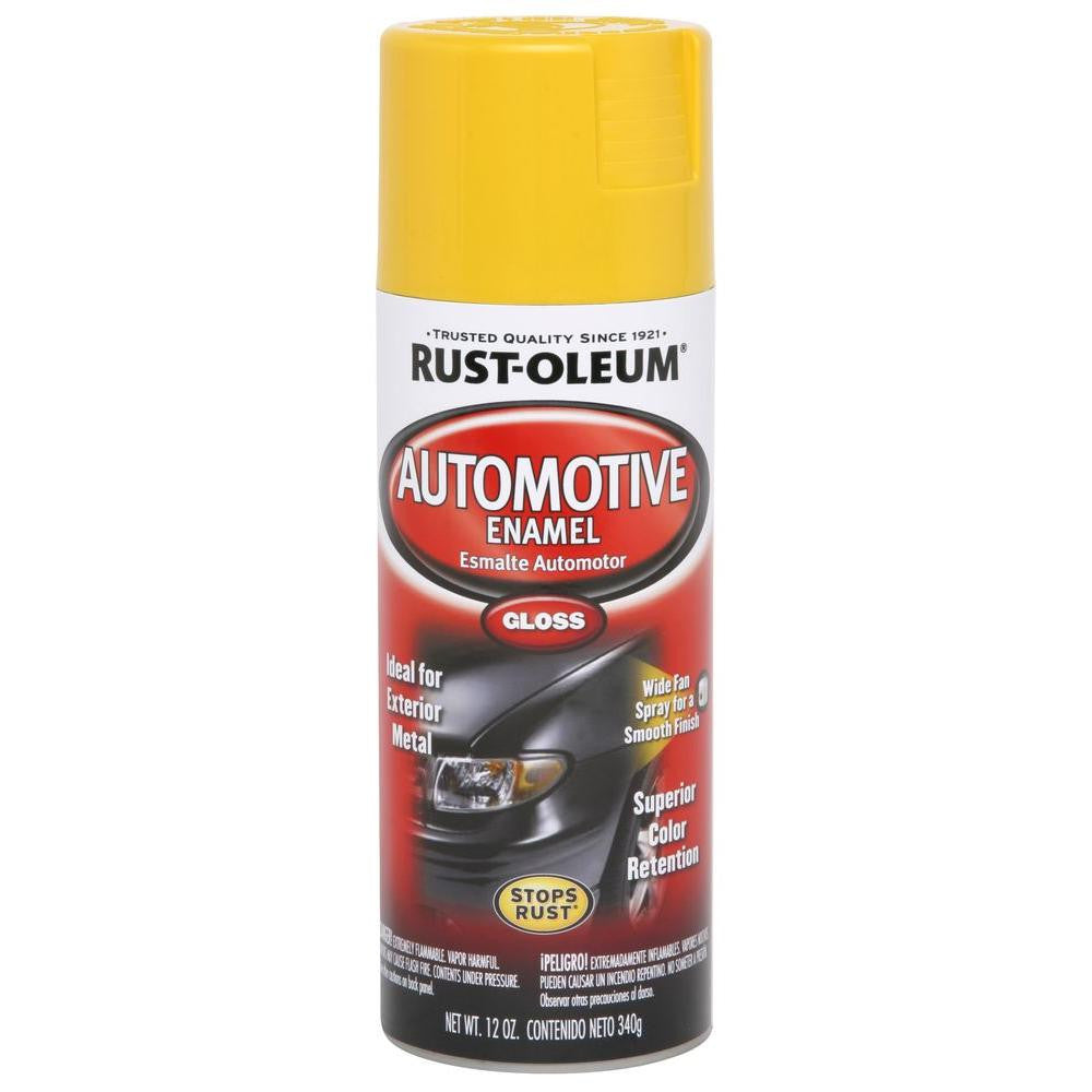 Rustoleum Automotive Enamel - GLOSS EXTREME YELLOW