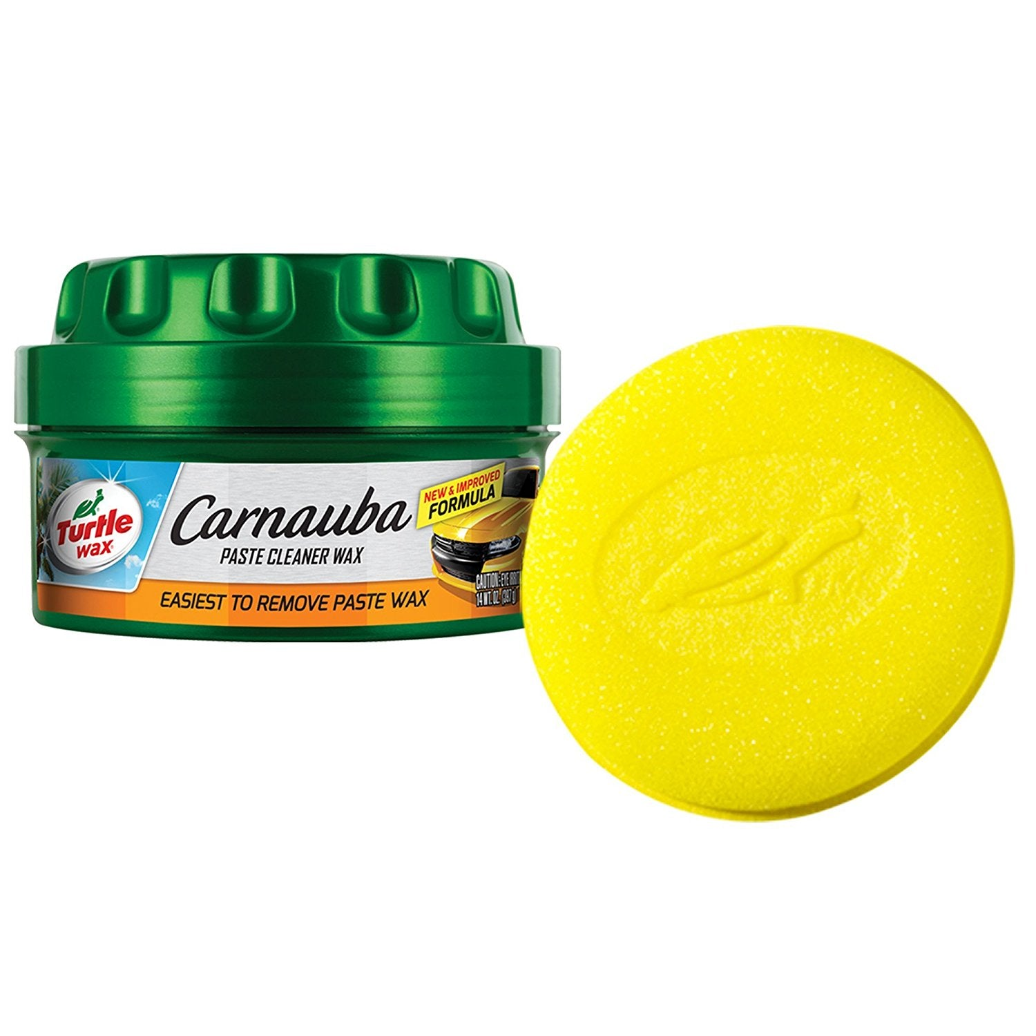Turtle Wax Carnauba Cleaner Paste Wax - 14 oz.