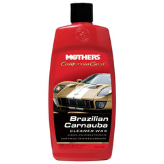 MOTHERS California Gold Brazilian Carnauba Cleaner Liquid Wax 16 OZ