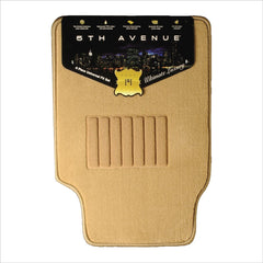 5TH Avenue Universal Car Mats (TAN) - Autohub Pakistan