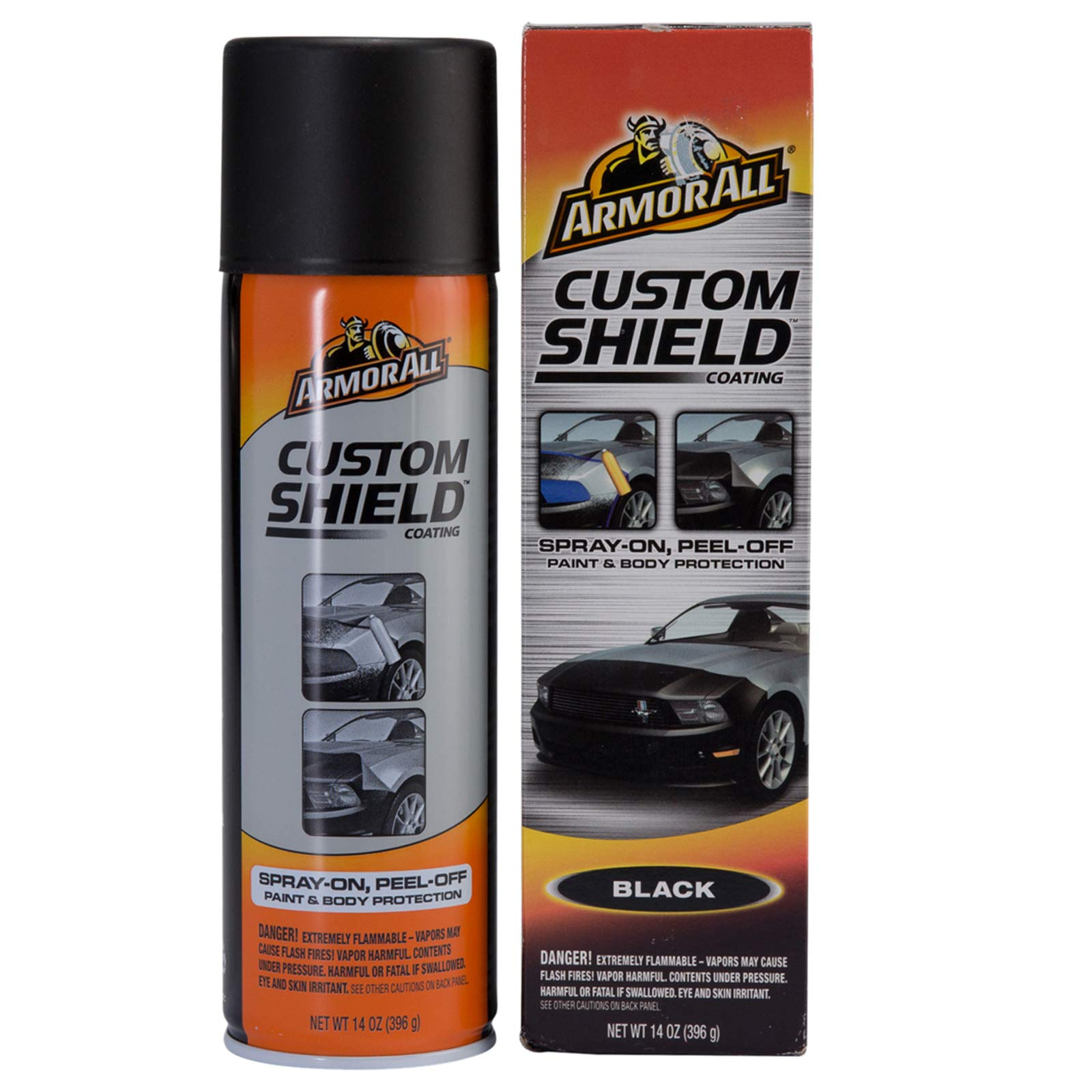 Armor All Custom Shield (14oz.) Black