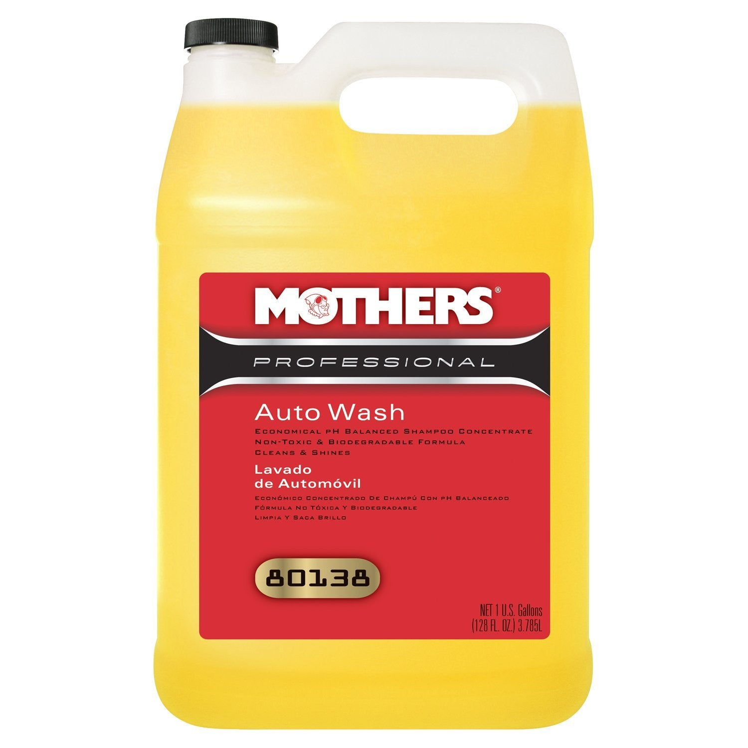 Mothers Auto Wash (Gallon)