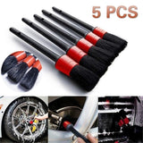 5 Pcs Detailing Brush Set - Autohub Pakistan