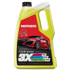 Mothers Tripple Action Foaming Wash 3 Liter - Autohub Pakistan