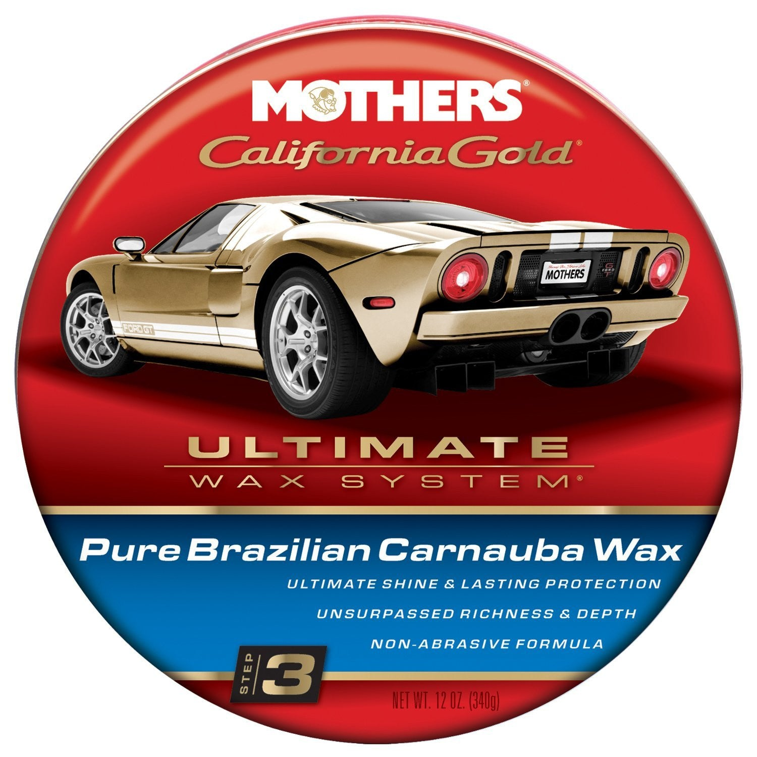 Mothers Pure Brazilian Carnauba Wax (Step 3)