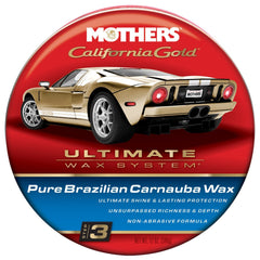 Mothers Pure Brazilian Carnauba Wax (Step 3) - Autohub Pakistan