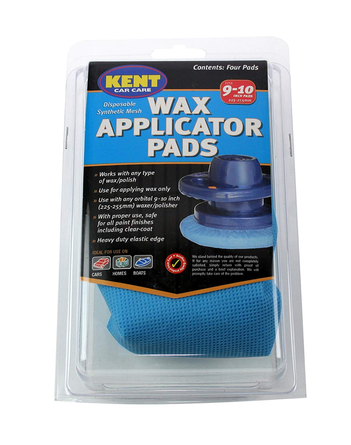 Kent Wax Applicator Pad for Polisher