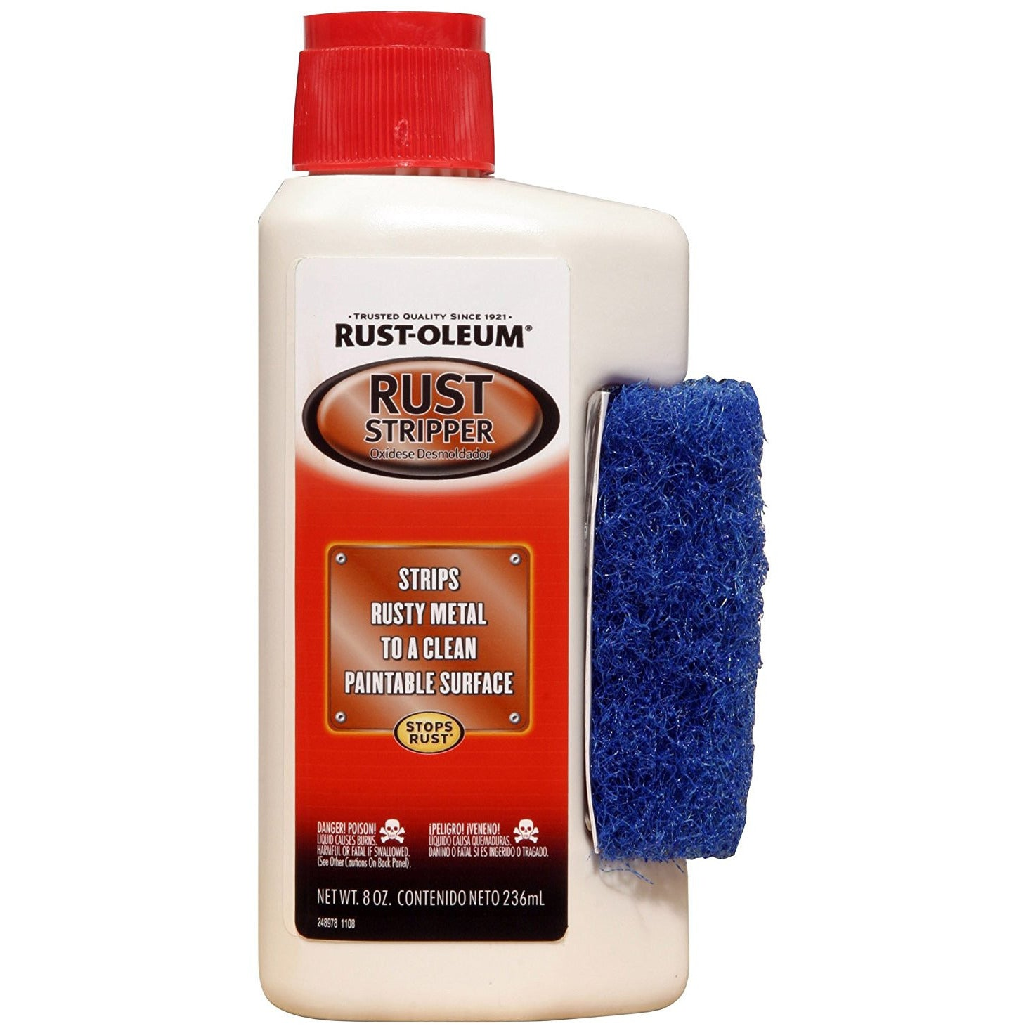Rustoleum Rust Treatment - RUST STRIPPER 8 OZ.