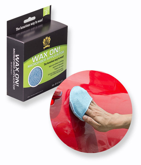Posh Pile Wax On Microfiber Applicator