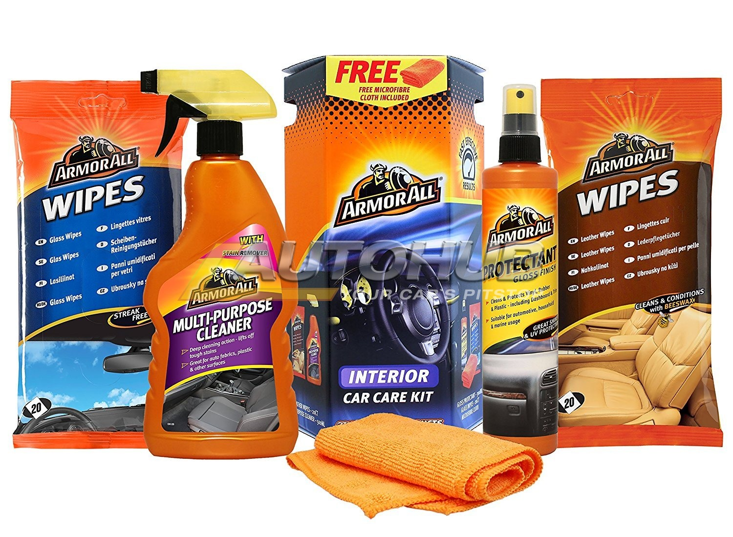 Armorall 4 Pcs Interior Car Care Kit