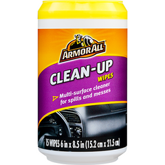 ARMOR ALL CLEAN-UP WIPES (20 Wipes) - Autohub Pakistan