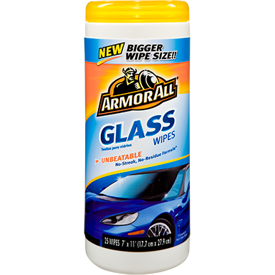 ARMOR ALL GLASS WIPES (20 Wipes)