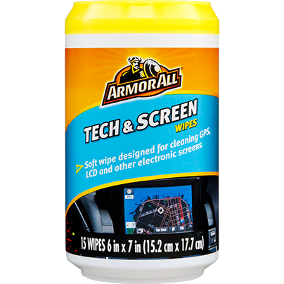 ARMOR ALL TECH & SCREEN WIPES (20 wipes)