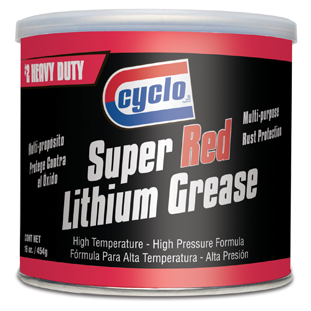 CYCLO SUPER RED LITHIUM GREASE (16oz./454g)