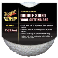 Meguiars Double Sided Wool Pad - Autohub Pakistan