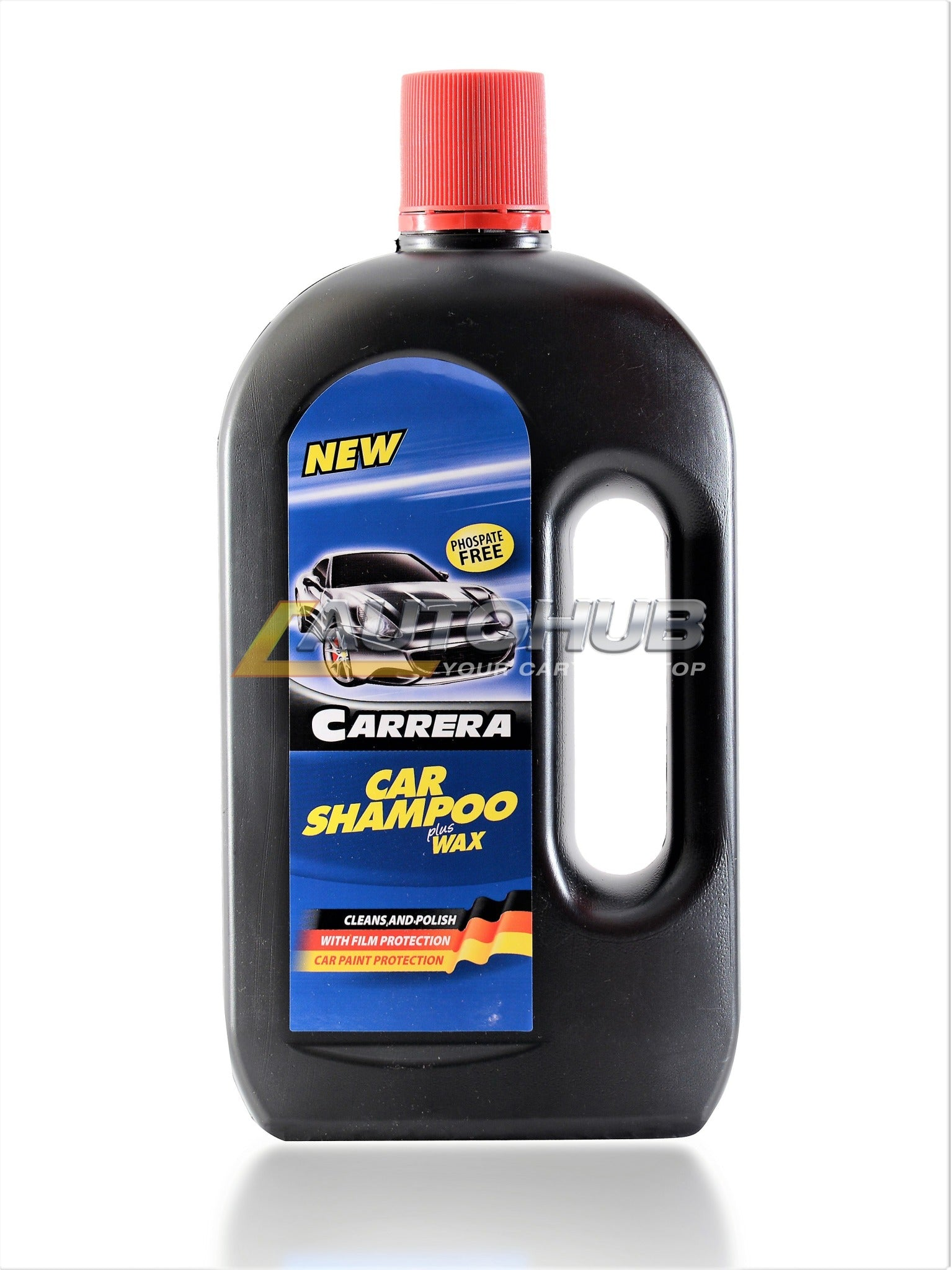 CARRERA Shampoo Plus Wax Bottle 650ml