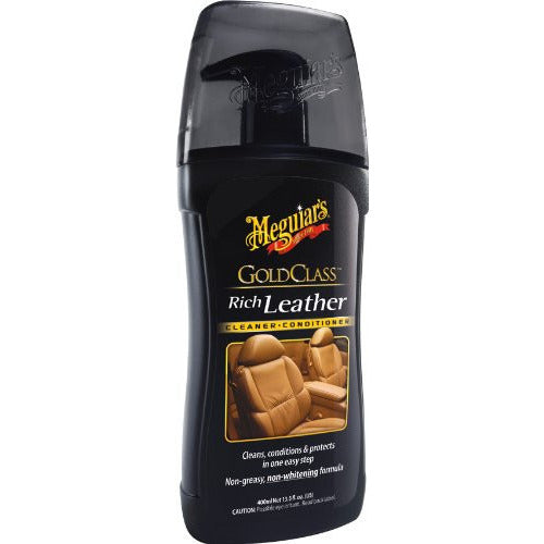 Meguiar's Gold Class Rich Leather Cleaner & Conditioner