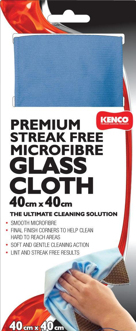 Kenco Microfiber Glass Cloth 40 X 40 cm