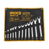 INGCO 12pcs combination spanner set - Autohub Pakistan
