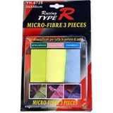 MICRO FIBER CLOTH 3 PCS - Autohub Pakistan