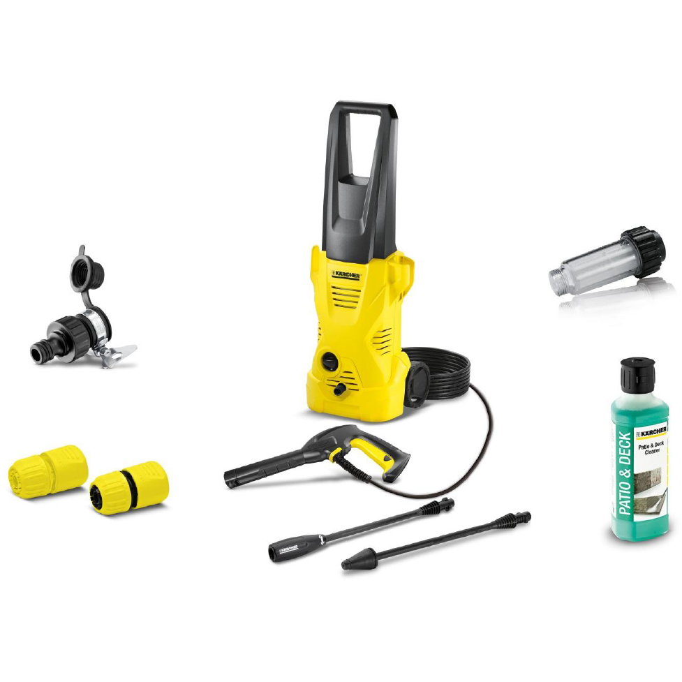 KARCHER K2 PLUS with extra accesories