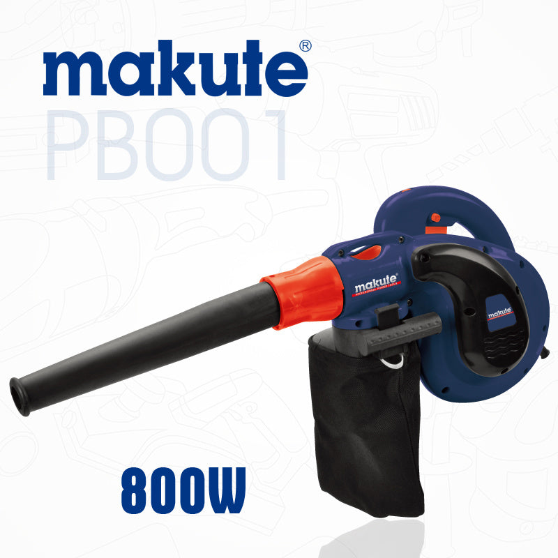 Makute Electric Power Blower / Vacuum 800W Suck and Blower