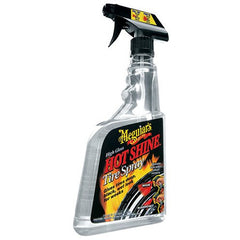 Meguiar's Hot Shine High Gloss Tire Spray - Autohub Pakistan