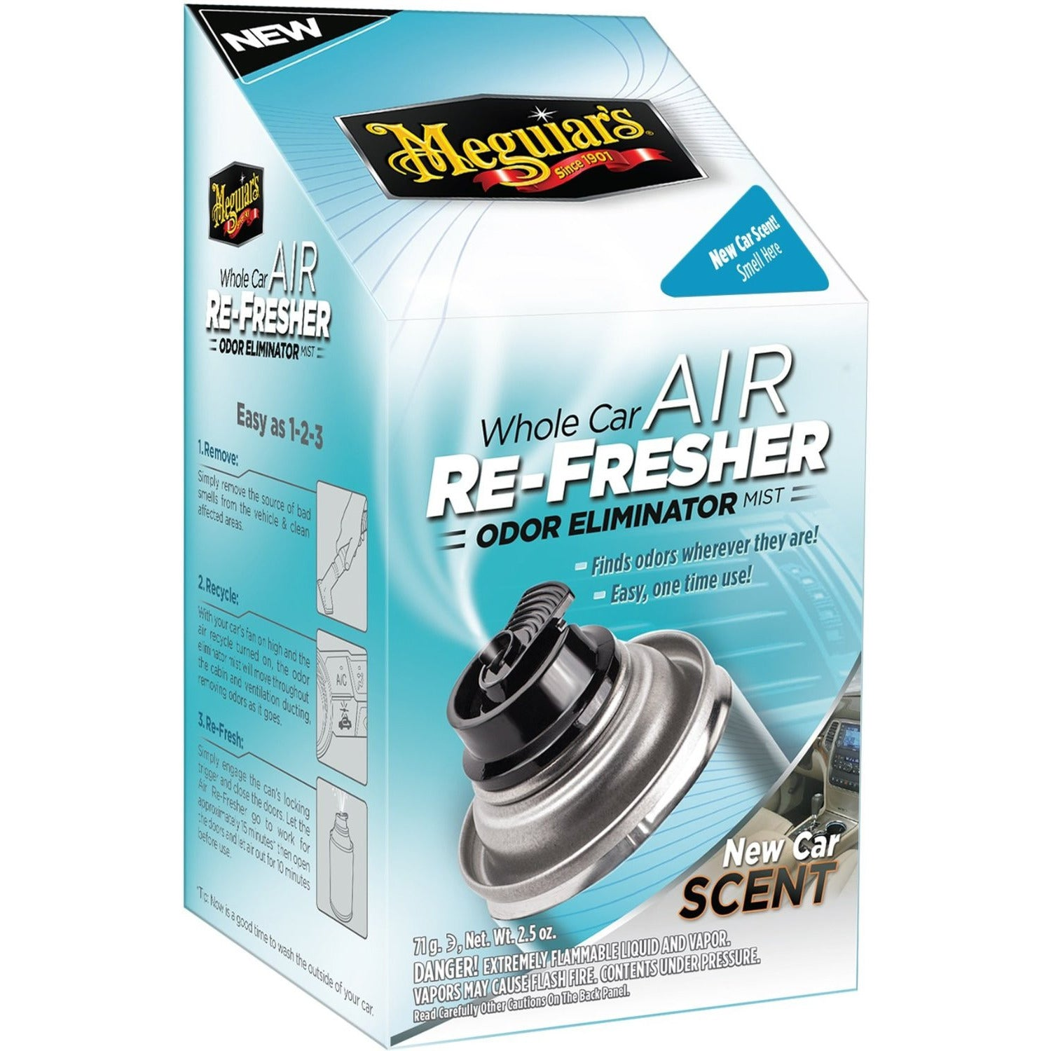 MEGUIAR'S AIR RE-FRESHNER New Car