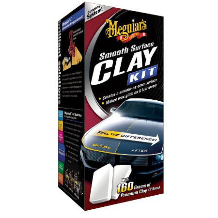 Meguiar's Smooth Surface Clay Kit (160gram)