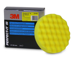 3M Perfect-It III Yellow Polishing PAD - Autohub Pakistan
