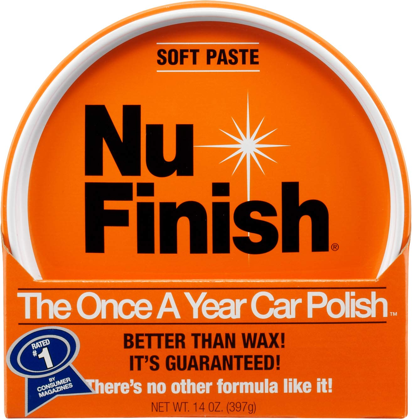 Nu Finish Car Polish Paste